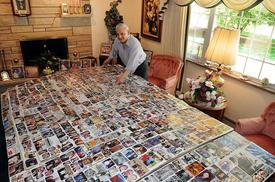 Joe Fazio, Restaurateur feeds a love of Charleston history - Creates collage of 1000+ pictures