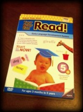 Baby Can Read :-) Daniel is excited!