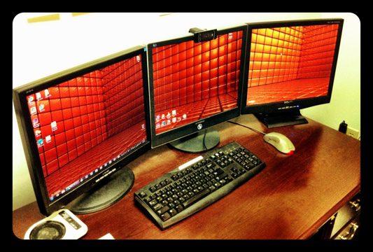 Three Screens is a Charm!