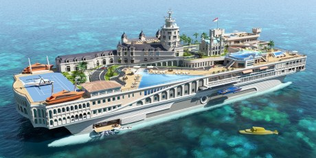Is This The World's First Billion-Dollar Yacht?