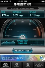 Super fast wifi at Panera Town Center