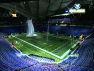 Incredible Video: Metrodome Roof Collapse Video From the Inside Metrodome