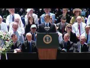 President Obama sharing at Senator Byrd's Memorial Service - Full Video (11min)