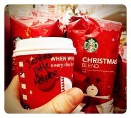 Starbucks little helper!