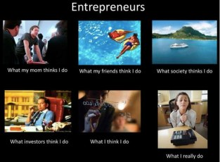 Amazing…What People Think Entrepreneurs Do