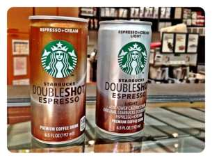 New Starbucks Doubleshot Light 70 calories vs 140 -  as long as it has the same amount of caffeine!