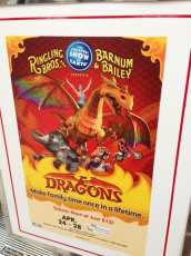 The circus is coming to town. Daniel will love the dragons!