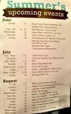 Summer events at BibleCenter Church