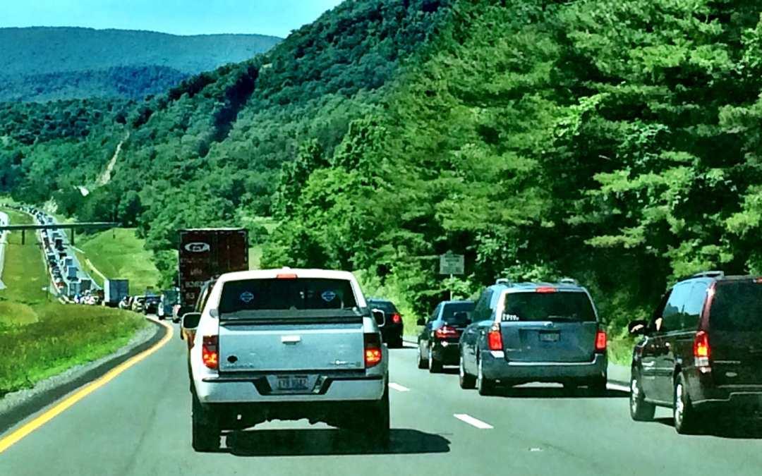 Home sweet traffic jam