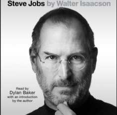 Starting to listen to the biography of Steve Jobs.