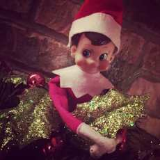 Sneaky elf... Always hiding in a different place every morning