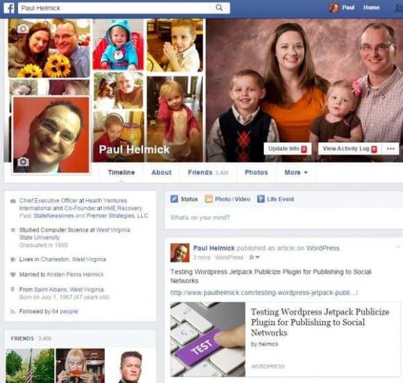 test jetpack publicize facebook