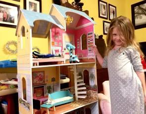 First big dollhouse
