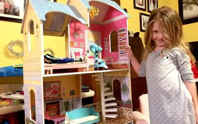 First big dollhouse