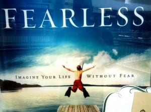 Fearless! I love this photo / Max Lucado