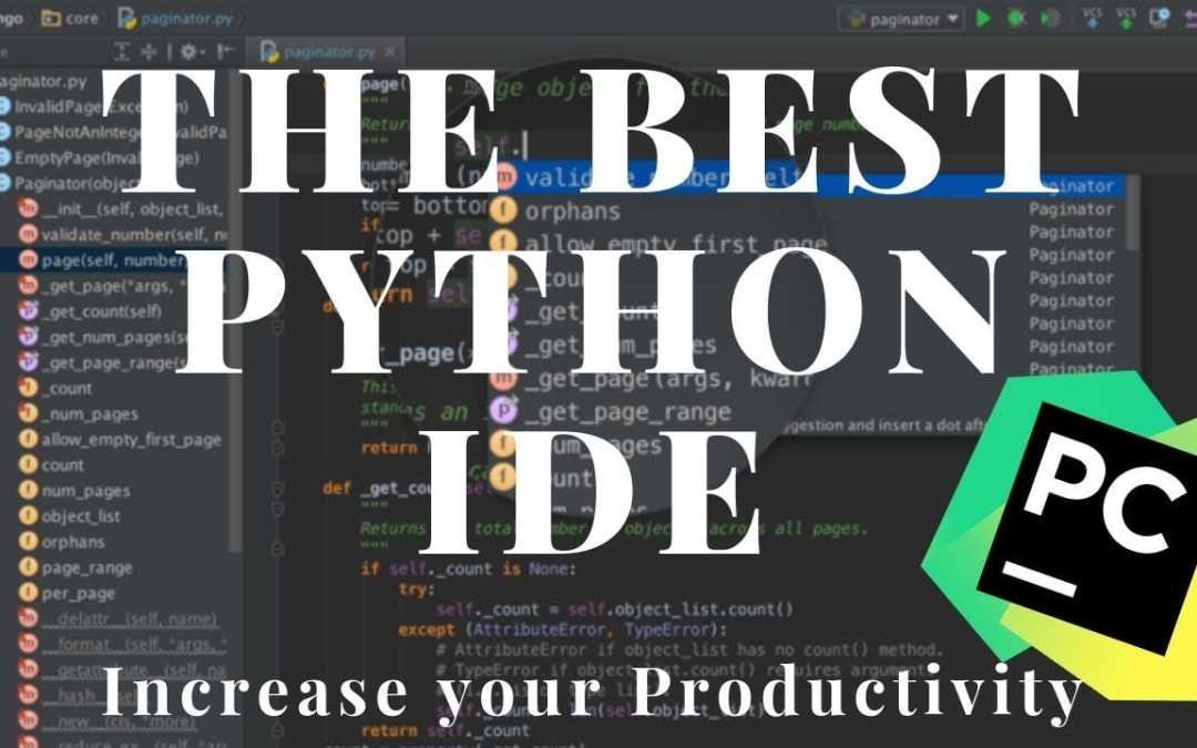 Python IDE: PyCharm Overview