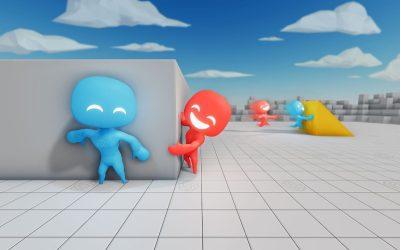 Cool AI Learning Demo: Hide and Seek