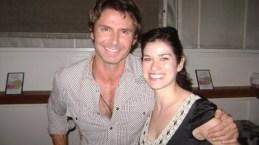 With his gorgeous sister Deidra