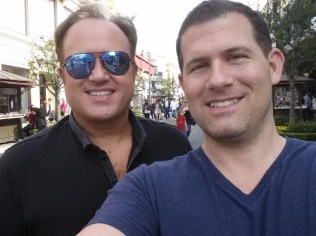 Paul and Terry at the Grove