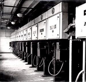 SWEHS_5.2.019.jpg - Date 1950 - Dorchester Street Generating Station, Churchill Bridge. Commenced supply 1890. Main Ferguson Palin switchboard.