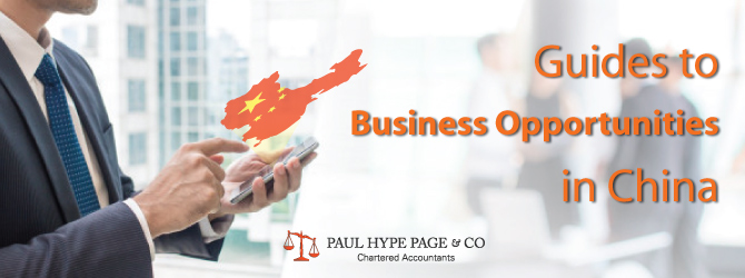 Guide for Business Opportunities in China