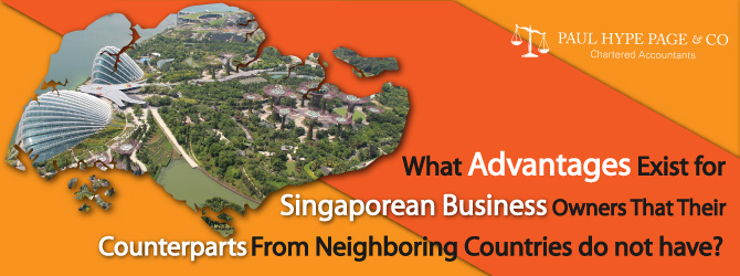 Advantages exist for Singaporean Business Owners