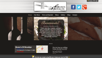 New Wix Site