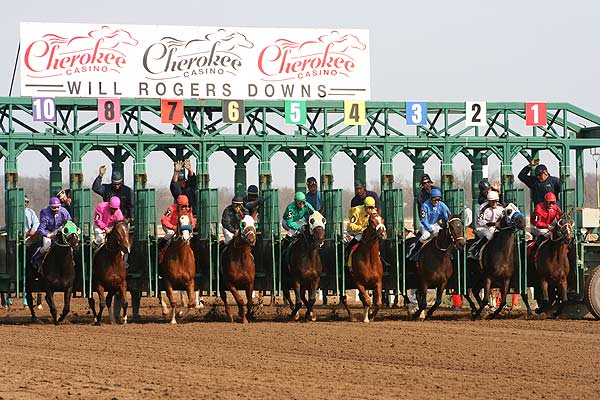 Will Rogers Downs Entries & Results for Wednesday, 4-15-2020