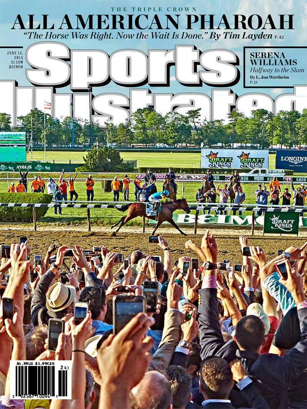 Cover Boy American Pharoah Front And Center In Sports