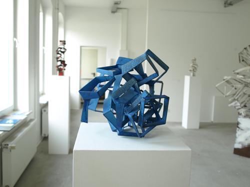 Cobalt Cut Cube