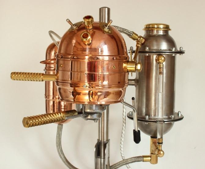 Macello-2 Espressomaschine Detail