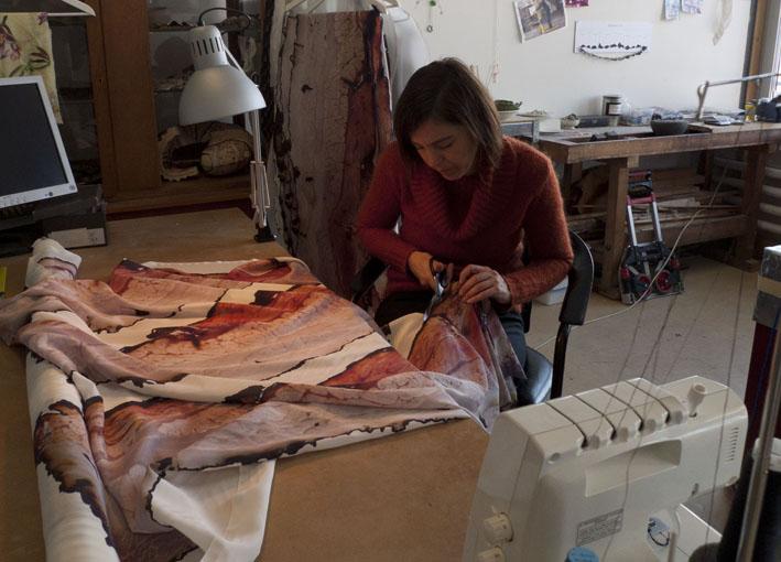 Herstellungsprozess Fou Lard im Atelier