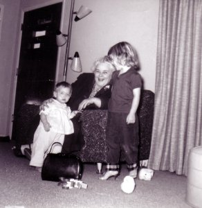 me, my sister and my other grandma