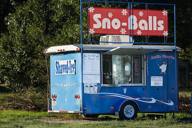 Sno-ball stand in Waller TX
