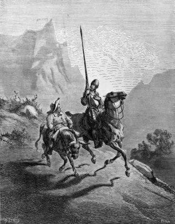 Illustration de Don Quichotte par Gustave Doré