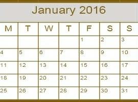 January Reboot