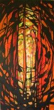 Marzenie - akryl na płótnie 100x50cm, obraz sprzedany