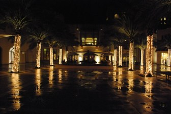 Shangri La by night (in the rain)