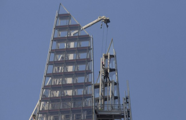 Greenpeace Shard protester gets email thanking her for visit
