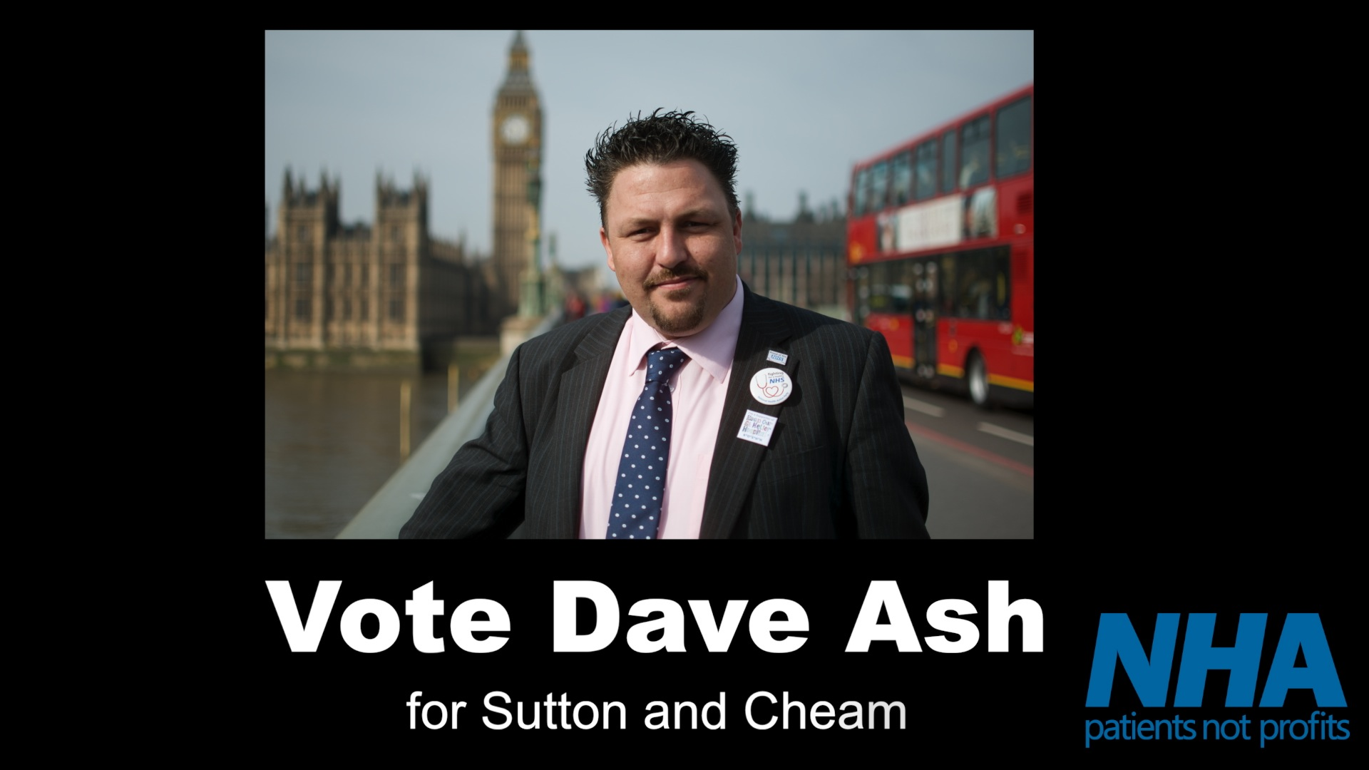 #GE2015 campaign video for Dave Ash, National Health Party candidate