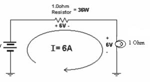 Lâmpada com resistor em série