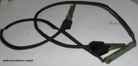 Fig. 5 - Resistor para descarga de capacitores