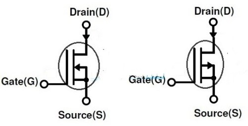Fig.1 -MOSFET Modo depleção