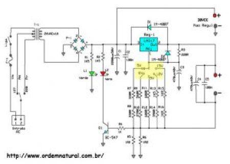 circuito da fonte do Alex