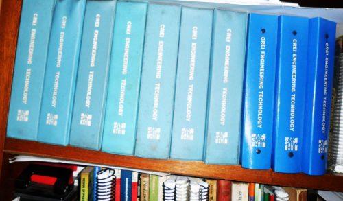 Coleção de livros do CREI