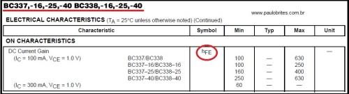 """Diversos """"tipos"""" de BC337"""