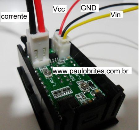 Fig.3- Conectores do YB27 VA