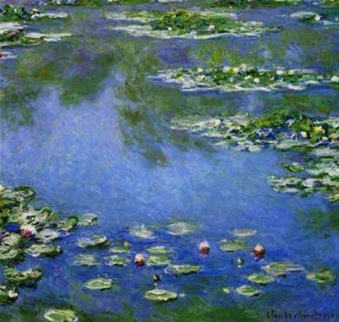 Les nenuphars by Claude Monet