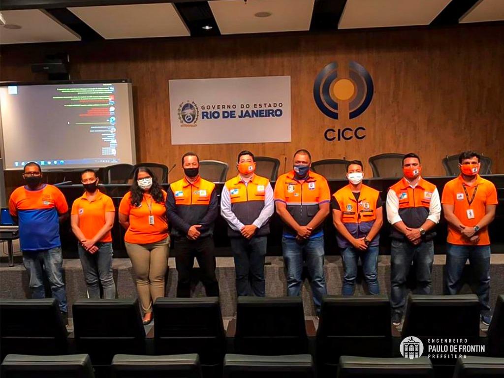 You are currently viewing Defesa Civil de Paulo de Frontin visita Centro Estadual de Monitoramento e Alerta de Desastres Naturais(CEMADEN-RJ)
