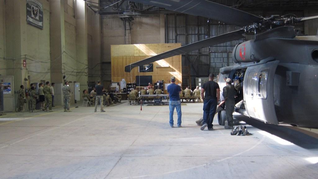 Medevac Hangar